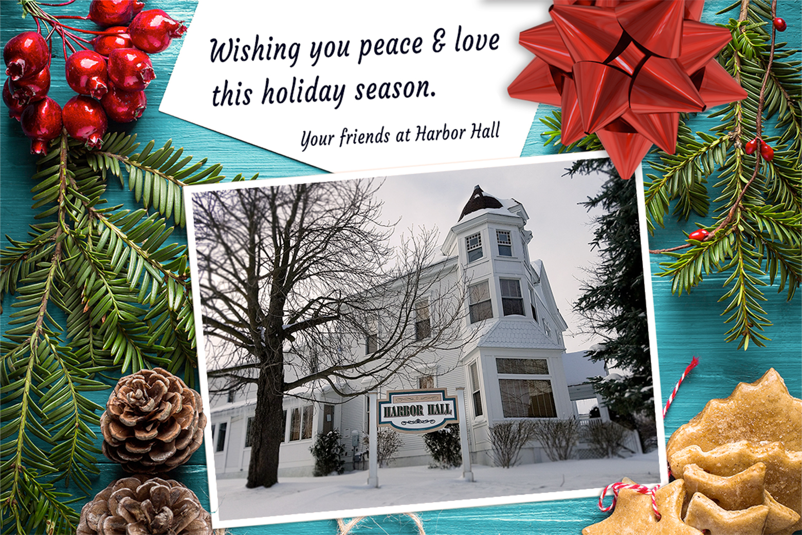 harbor hall holiday card