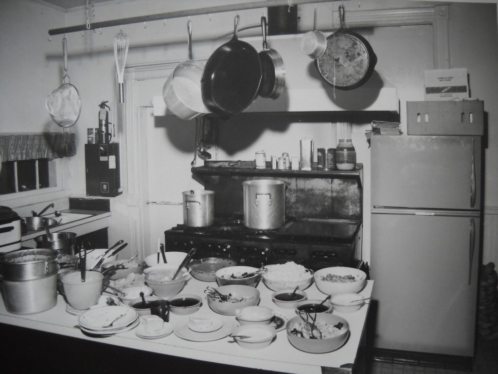 harbor hall history photos kitchen